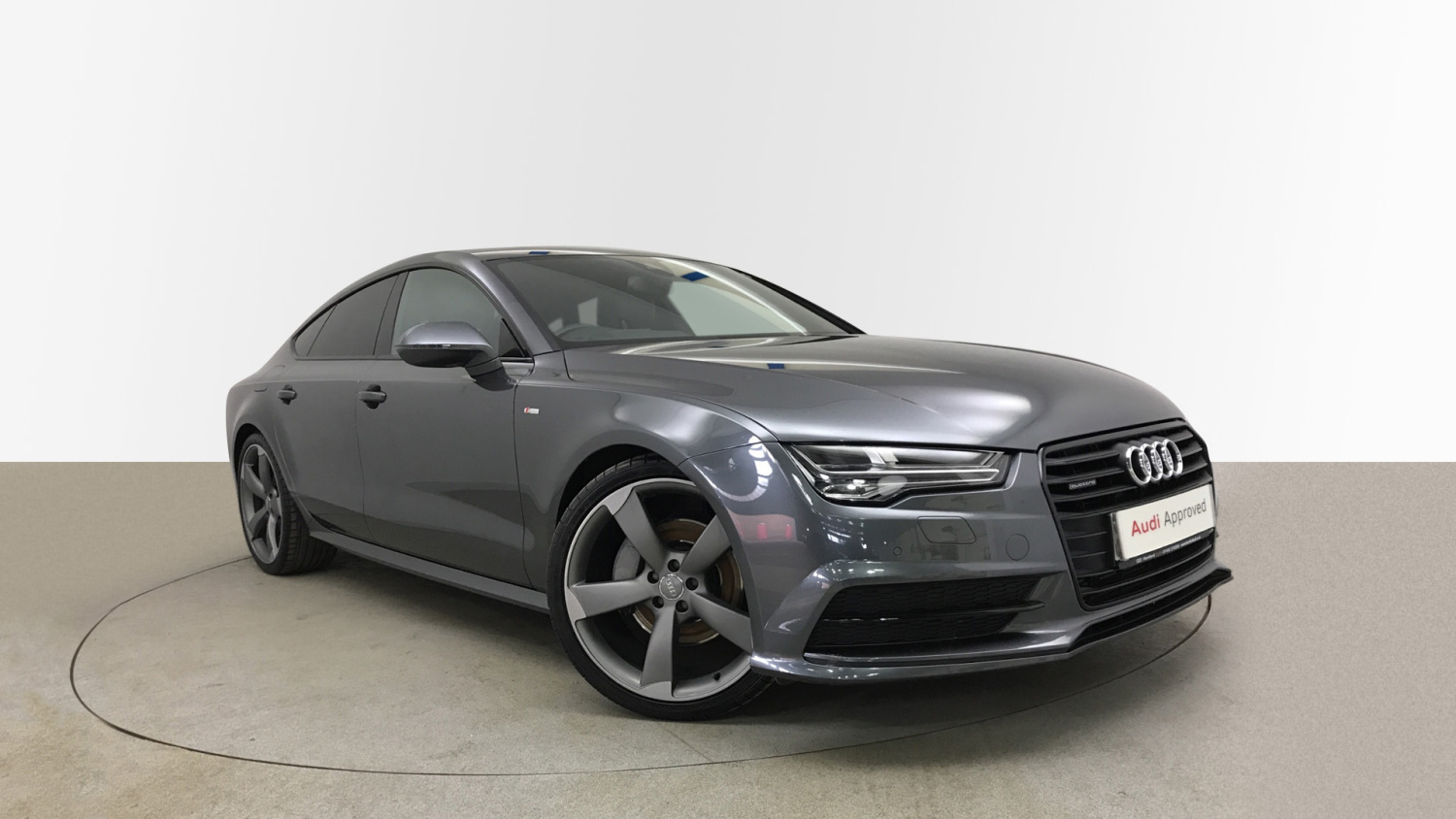 used audi a7 3 0 tdi quattro 272 black edition 5dr s tronic diesel hatchback for sale bristol. Black Bedroom Furniture Sets. Home Design Ideas
