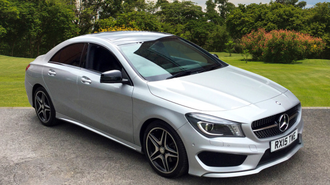 used mercedes benz cla cla 200 cdi amg sport 4dr tip auto diesel saloon for sale bristol. Black Bedroom Furniture Sets. Home Design Ideas
