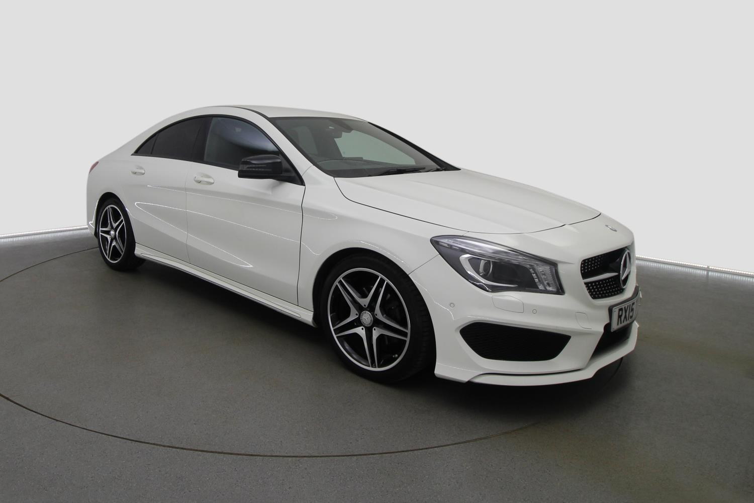 used mercedes benz cla cla 180 amg sport 4dr tip auto. Black Bedroom Furniture Sets. Home Design Ideas