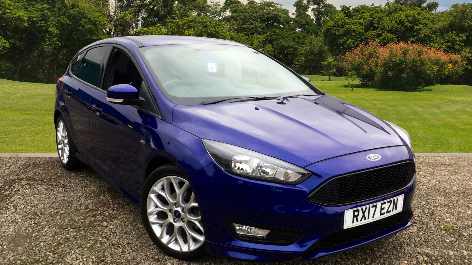 used ford focus 1 5 tdci 120 st line 5dr powershift diesel hatchback for sale bristol street. Black Bedroom Furniture Sets. Home Design Ideas