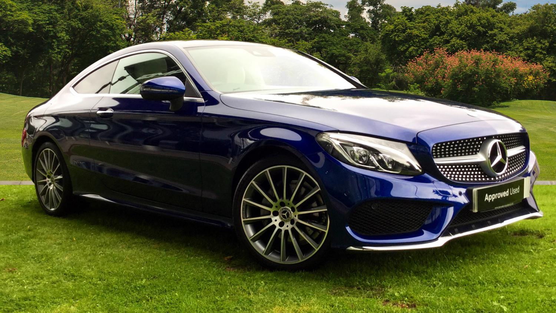 Used mercedes benz c class c220d amg line premium plus 2dr for Mercedes benz used car sales