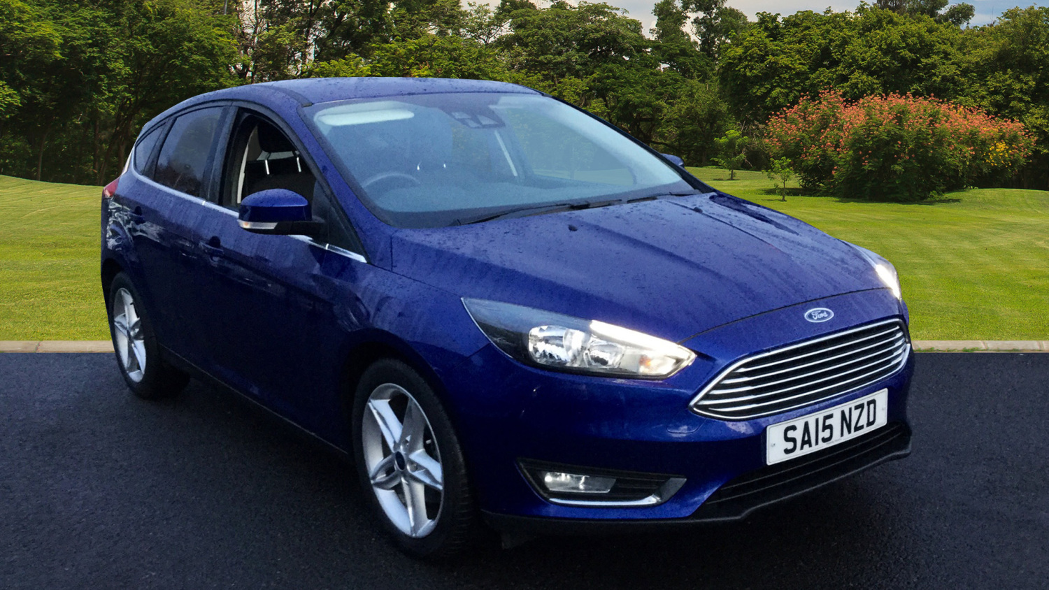 used ford focus 1 5 ecoboost titanium 5dr petrol hatchback for sale bristol street motors. Black Bedroom Furniture Sets. Home Design Ideas