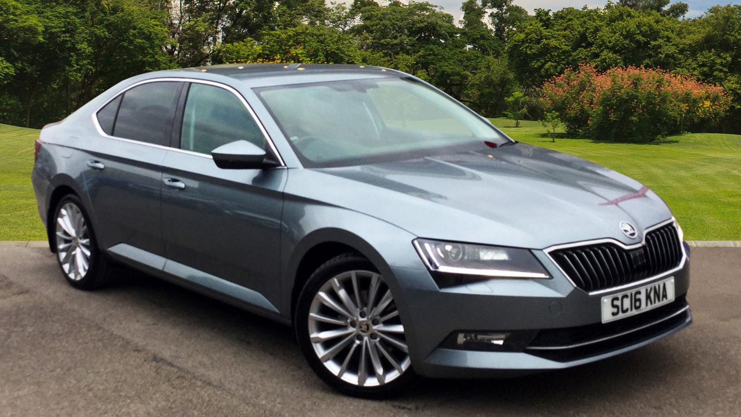 buy online skoda superb 2 0 tdi cr 190 se l executive 5dr dsg diesel hatchback for sale. Black Bedroom Furniture Sets. Home Design Ideas