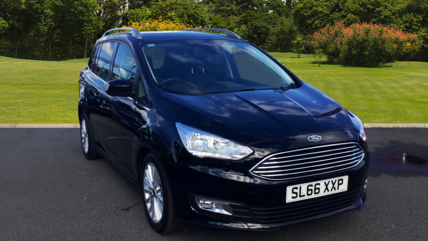 used ford grand c max 1 5 tdci titanium 5dr diesel estate for sale bristol street motors. Black Bedroom Furniture Sets. Home Design Ideas