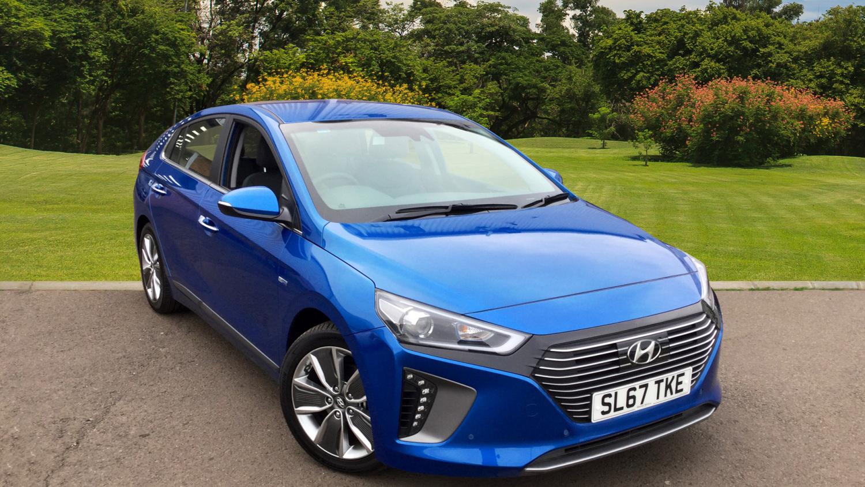 Used hyundai ioniq 1 6 gdi hybrid premium se 5dr dct for Hyundai motor finance number