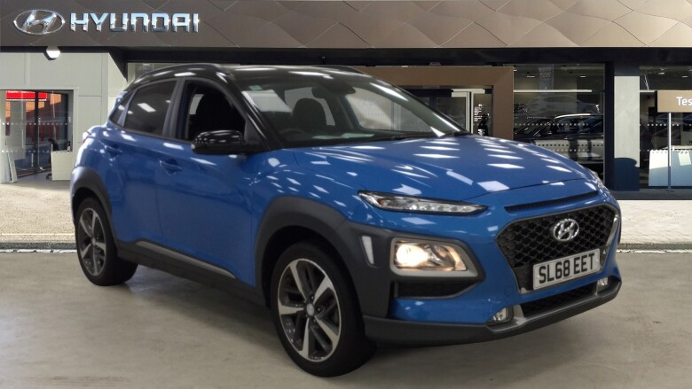 used hyundai kona 1 0t gdi blue drive premium 5dr petrol hatchback for sale bristol street motors. Black Bedroom Furniture Sets. Home Design Ideas