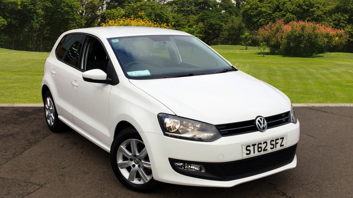 used volkswagen polo 1 2 60 match 5dr petrol hatchback for sale bristol street motors. Black Bedroom Furniture Sets. Home Design Ideas