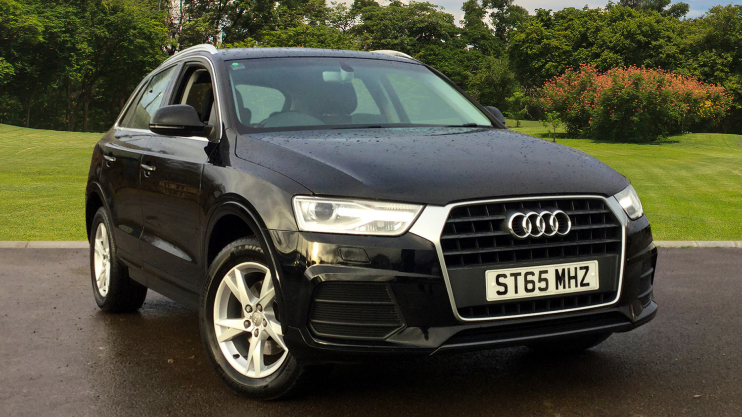 used audi q3 2 0 tdi se 5dr diesel estate for sale. Black Bedroom Furniture Sets. Home Design Ideas