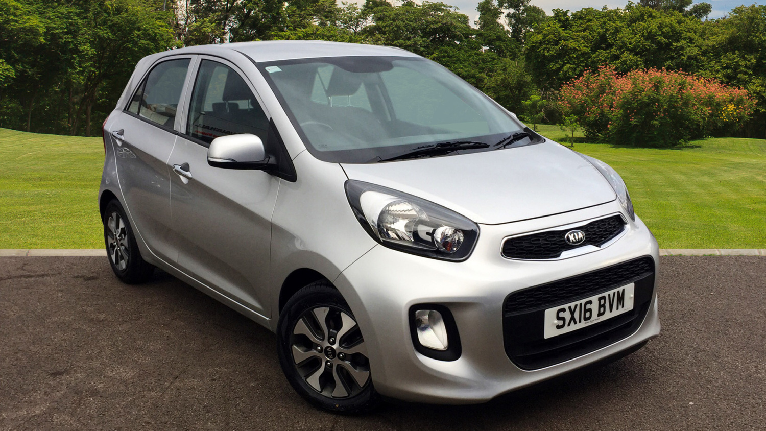 used kia picanto 2 5dr auto petrol hatchback for sale. Black Bedroom Furniture Sets. Home Design Ideas