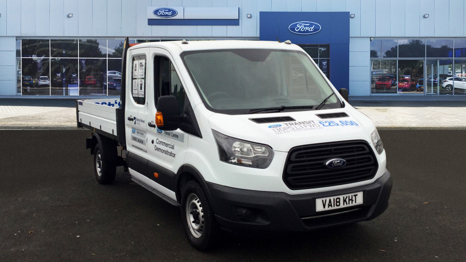 7b80c6d34e Used Ford Transit 350 L3 Diesel Fwd 2.0 TDCi 170ps  One Stop  D Cab ...