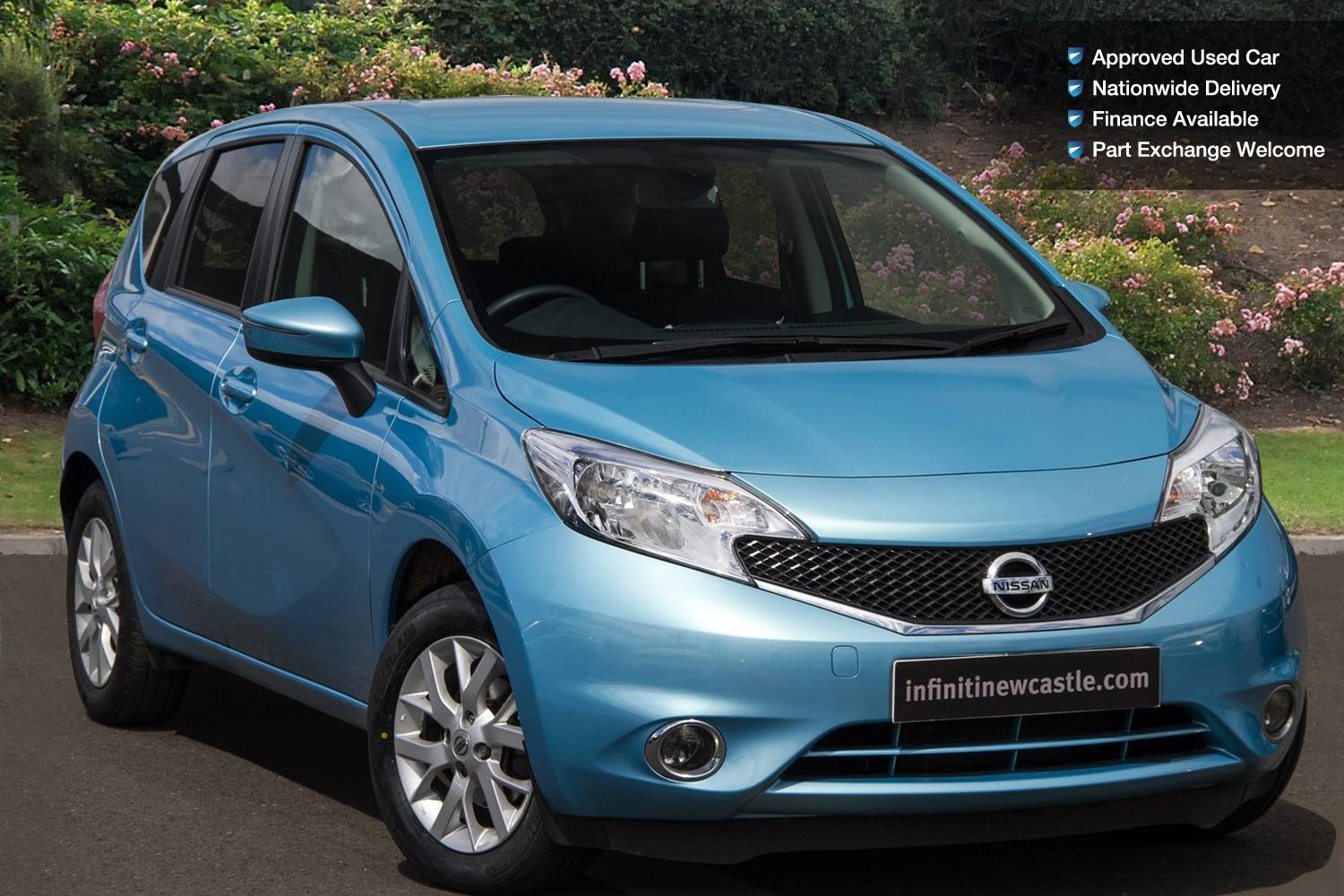 used nissan note 1 2 acenta premium 5dr petrol hatchback. Black Bedroom Furniture Sets. Home Design Ideas