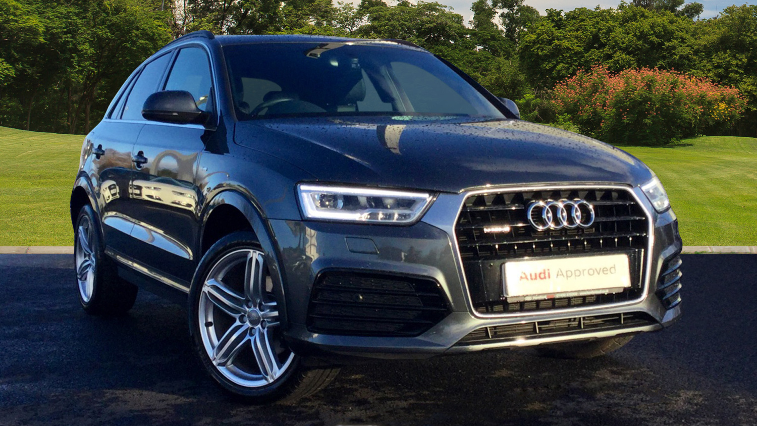 used audi q3 2 0 tdi quattro s line plus 5dr s tronic diesel estate for sale bristol street motors. Black Bedroom Furniture Sets. Home Design Ideas