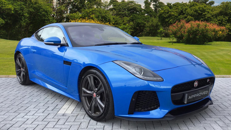 used jaguar f type 5 0 supercharged v8 svr 2dr auto awd petrol coupe for sale bristol street. Black Bedroom Furniture Sets. Home Design Ideas