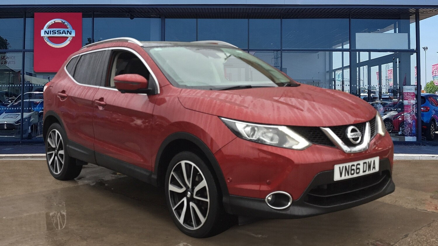 buy online nissan qashqai 1 5 dci tekna 5dr diesel hatchback for sale bristol street motors. Black Bedroom Furniture Sets. Home Design Ideas