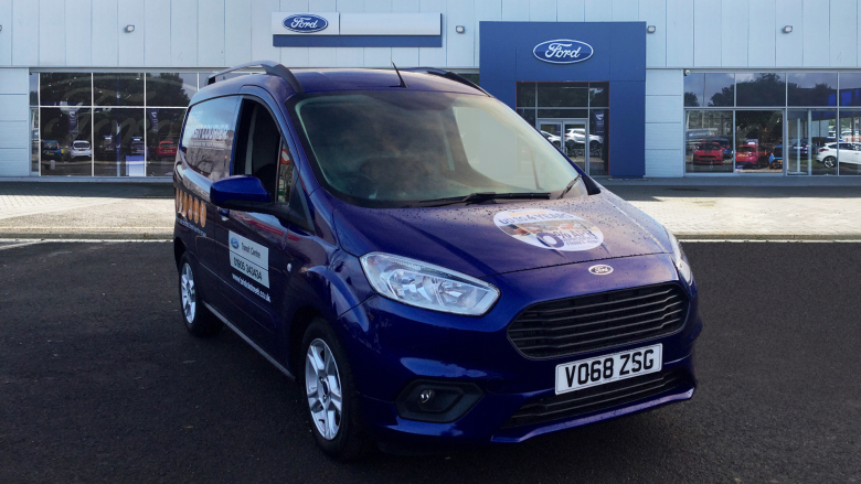 Used Ford Transit Courier Petrol 1 0 EcoBoost Limited Van [6