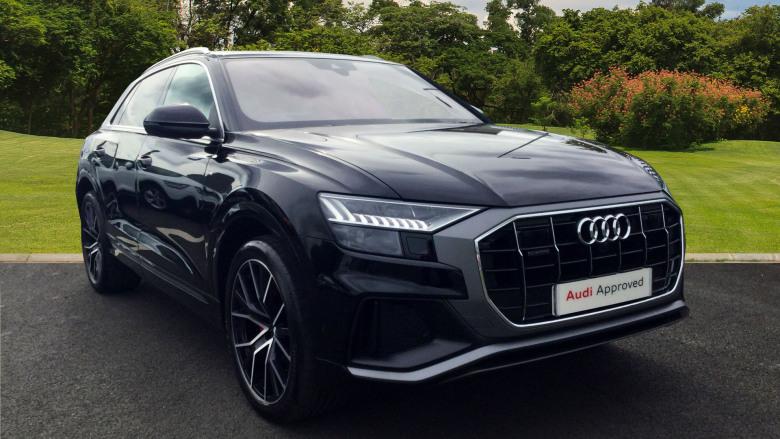 Used Audi Q8 50 Tdi Quattro S Line 5dr Tiptronic Diesel Estate For