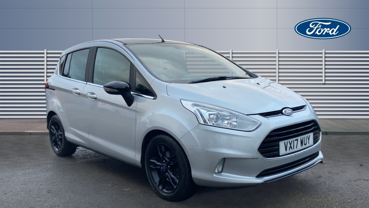 used ford b max 1 0 ecoboost zetec silver edition 5dr. Black Bedroom Furniture Sets. Home Design Ideas