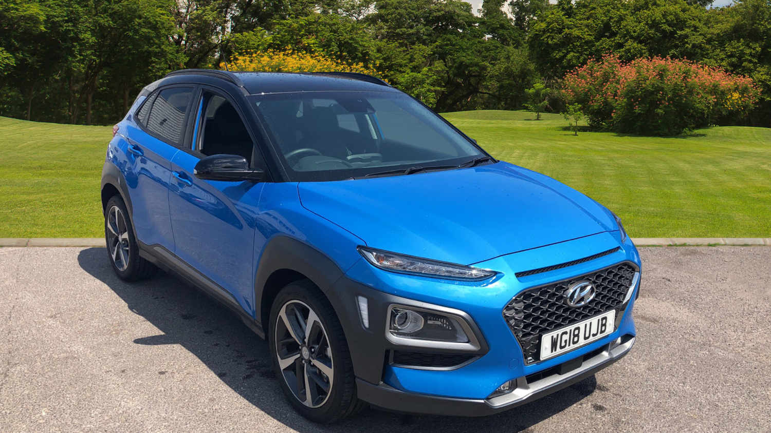buy online hyundai kona 1 6t gdi blue drive premium gt 5dr 4wd dct petrol hatchback for sale. Black Bedroom Furniture Sets. Home Design Ideas
