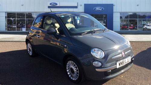 Fiat 500 1.2 Lounge 3Dr [start Stop] Petrol Hatchback