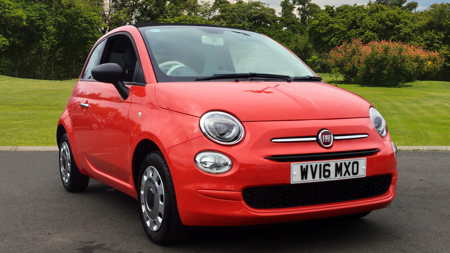 used fiat 500 1 2 pop 2dr petrol convertible for sale bristol street motors. Black Bedroom Furniture Sets. Home Design Ideas