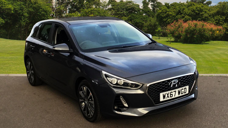 Used hyundai i30 1 0t gdi se nav 5dr petrol hatchback for for Hyundai motor finance number