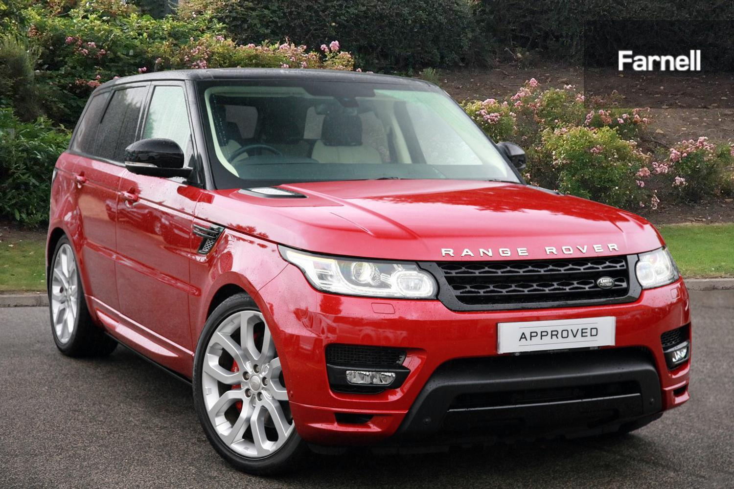 used land rover range rover sport 3 0 sdv6 autobiography. Black Bedroom Furniture Sets. Home Design Ideas