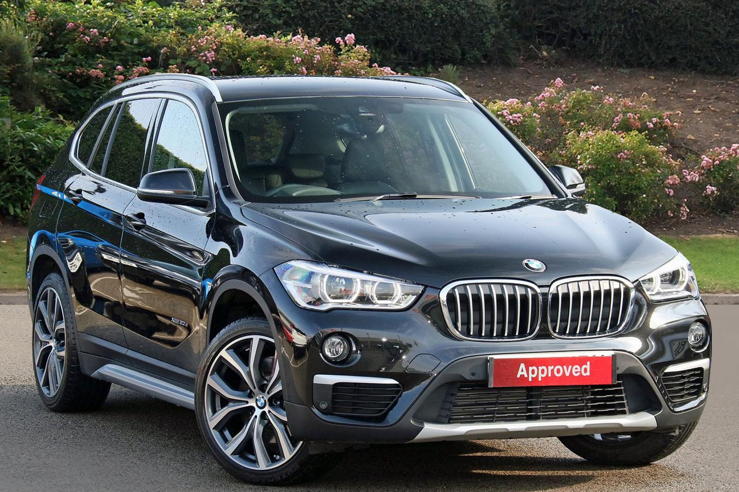 used bmw x1 xdrive 20d xline 5dr step auto diesel estate. Black Bedroom Furniture Sets. Home Design Ideas