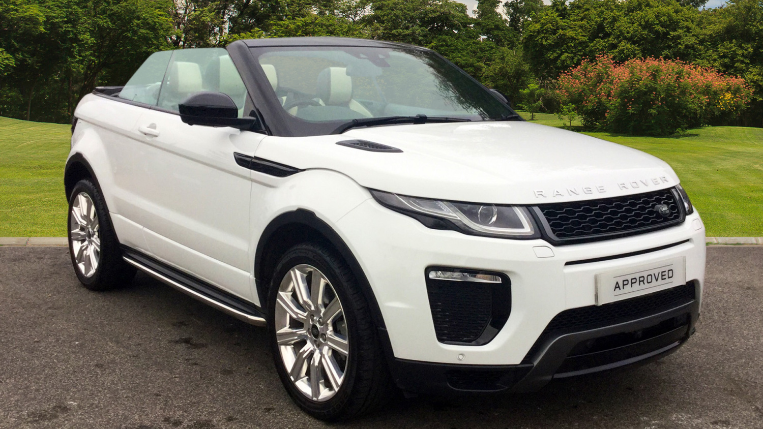 used land rover range rover evoque convertible 2 0 td4 hse. Black Bedroom Furniture Sets. Home Design Ideas