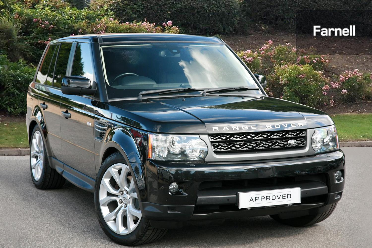 used land rover range rover sport 3 0 tdv6 hse 5dr commandshift diesel estate for sale bristol. Black Bedroom Furniture Sets. Home Design Ideas
