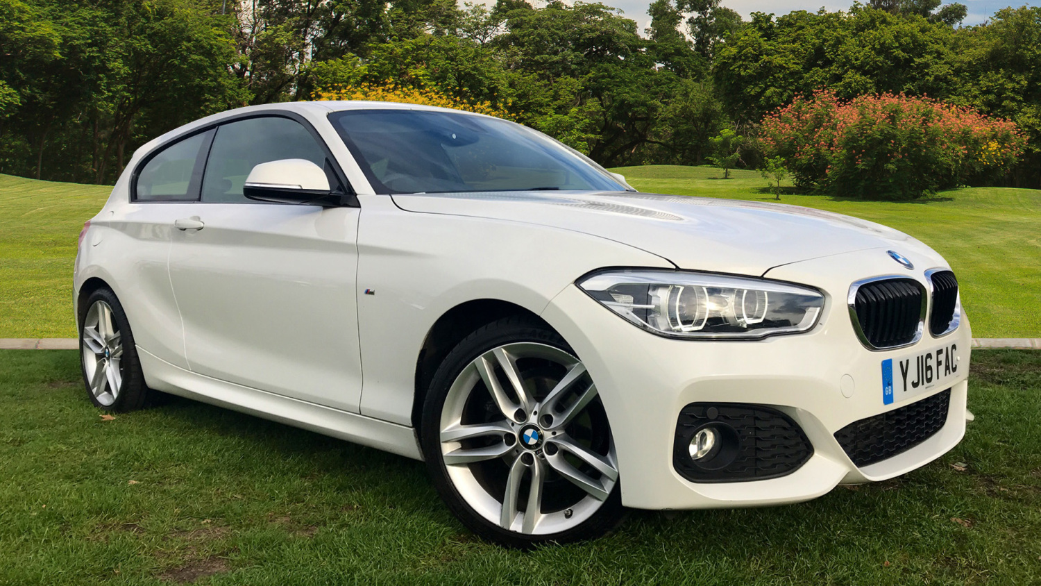 used bmw 1 series 116d m sport 3dr nav diesel hatchback. Black Bedroom Furniture Sets. Home Design Ideas