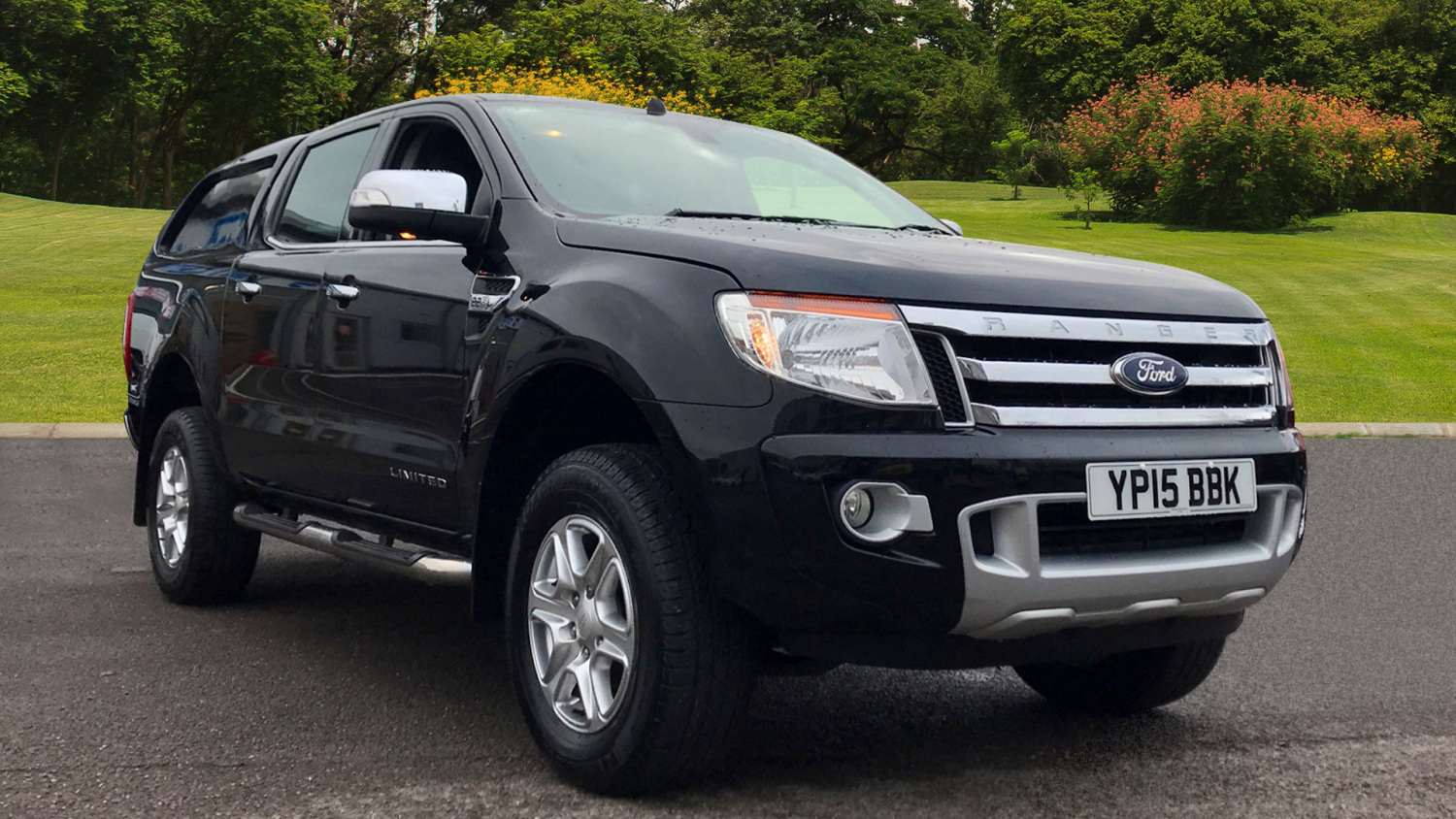 used ford ranger diesel pick up double cab limited 2 2 tdci 150 4wd for sale bristol street motors. Black Bedroom Furniture Sets. Home Design Ideas