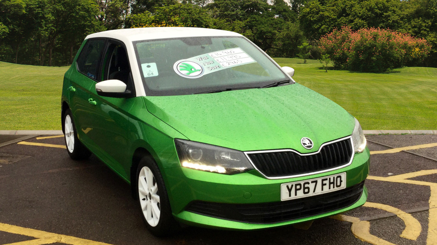 used skoda fabia 1 2 tsi colour edition 5dr petrol. Black Bedroom Furniture Sets. Home Design Ideas