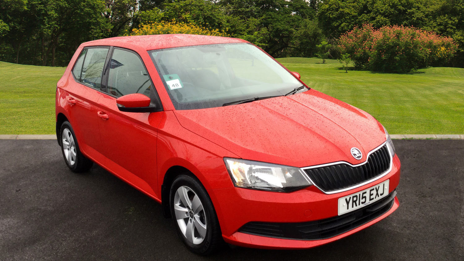 used skoda fabia 1 2 tsi 90 se 5dr petrol hatchback for. Black Bedroom Furniture Sets. Home Design Ideas