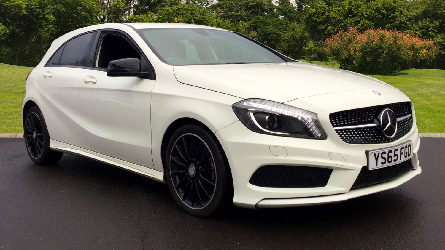used mercedes benz a class a200 cdi amg night edition 5dr. Black Bedroom Furniture Sets. Home Design Ideas