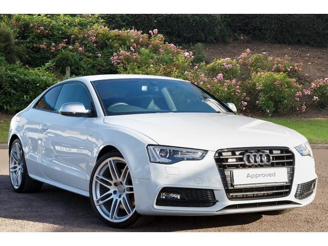 Used audi a5 s5 quattro black edition 2dr s tronic petrol coupe for sale bristol street motors - White audi a5 coupe for sale ...