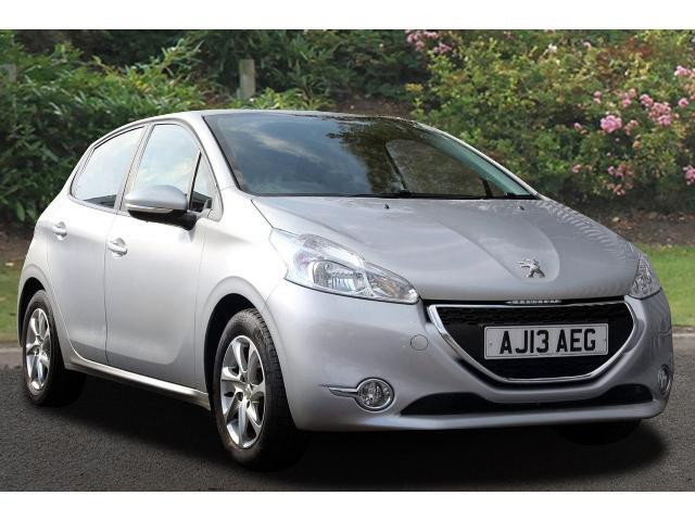 used peugeot 208 1 4 hdi active 5dr diesel hatchback for. Black Bedroom Furniture Sets. Home Design Ideas
