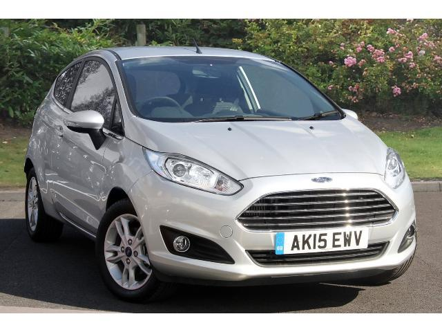 Used Ford Fiesta 1 0 Zetec 3dr Petrol Hatchback For Sale