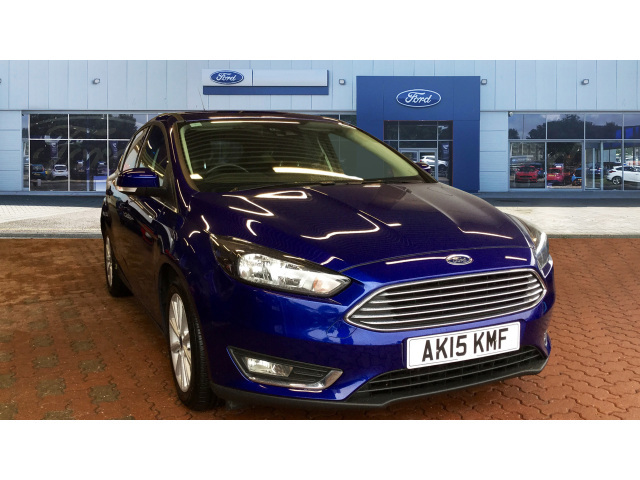 Request A Callback On A Used Ford Focus 1 0 Ecoboost 125