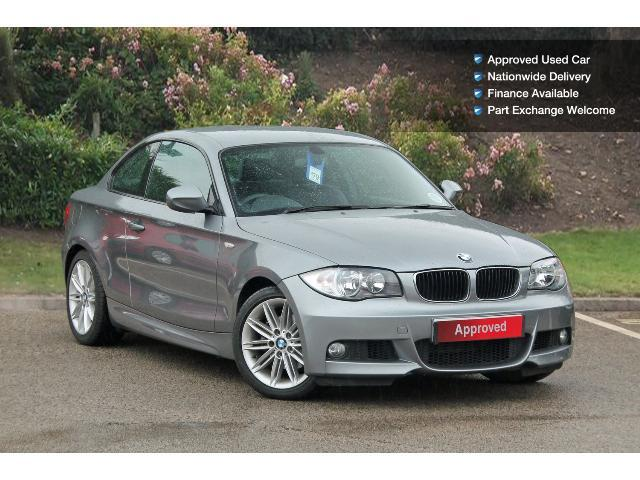 used bmw 1 series 120d m sport 2dr step auto diesel coupe. Black Bedroom Furniture Sets. Home Design Ideas