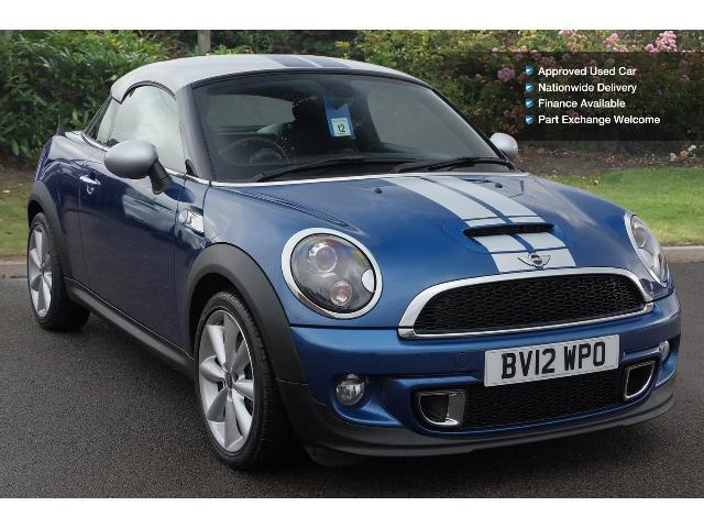 Used Mini Coupe 1 6 Cooper S 3dr Petrol Coupe For Sale