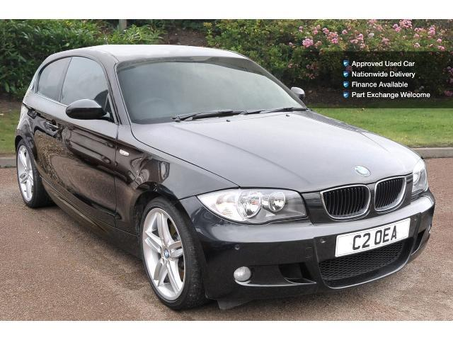 used bmw 1 series 123d m sport 3dr diesel hatchback for. Black Bedroom Furniture Sets. Home Design Ideas