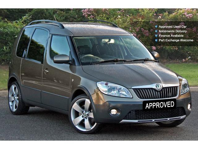used skoda roomster 1 6 tdi cr scout 5dr diesel estate for. Black Bedroom Furniture Sets. Home Design Ideas