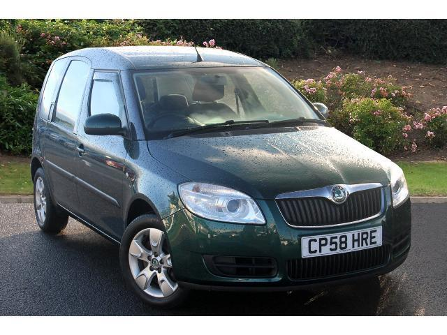 used skoda roomster 1 6 16v 2 5dr tiptronic petrol estate. Black Bedroom Furniture Sets. Home Design Ideas