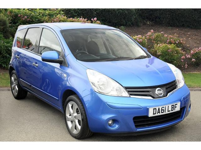 used nissan note 1 6 tekna 5dr auto petrol hatchback for sale bristol street motors. Black Bedroom Furniture Sets. Home Design Ideas