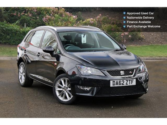 used seat ibiza 1 6 tdi cr fr 5dr diesel estate for sale bristol street motors. Black Bedroom Furniture Sets. Home Design Ideas