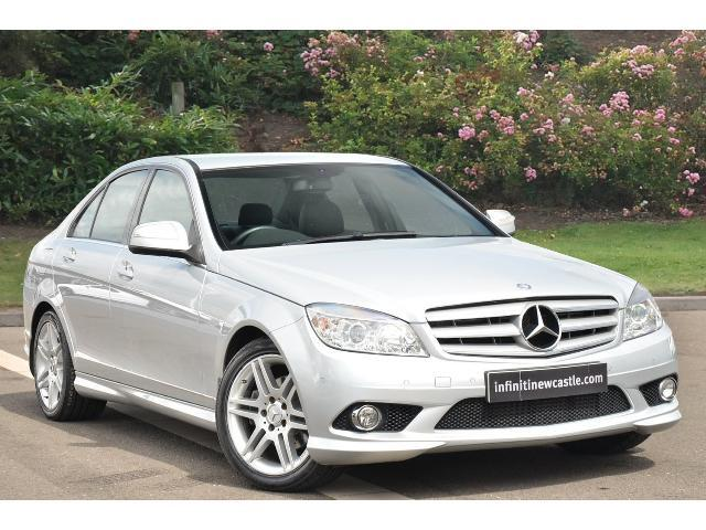 used mercedes benz c class c220 cdi sport 4dr auto diesel. Black Bedroom Furniture Sets. Home Design Ideas