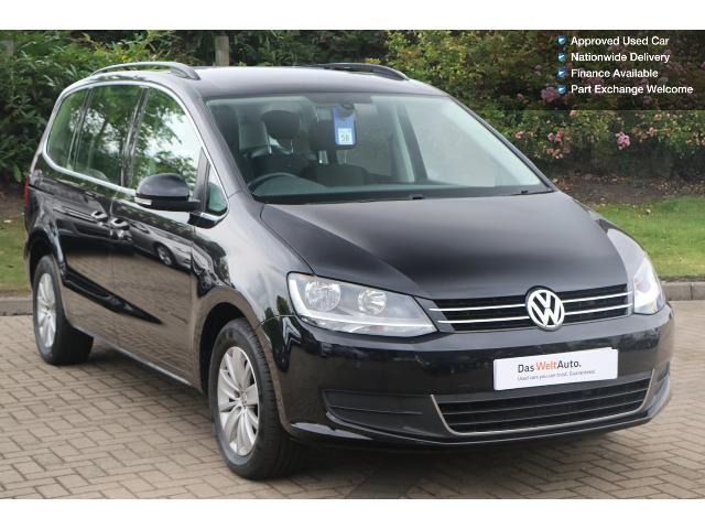 used volkswagen sharan 2 0 tdi cr bluemotion tech 140 se 5dr diesel estate for sale bristol. Black Bedroom Furniture Sets. Home Design Ideas
