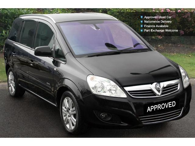 used vauxhall zafira 1 8i elite 5dr petrol estate for sale bristol street motors. Black Bedroom Furniture Sets. Home Design Ideas