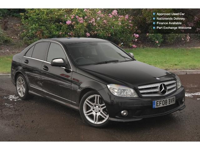 used mercedes benz c class c320 cdi sport 4dr auto diesel. Black Bedroom Furniture Sets. Home Design Ideas