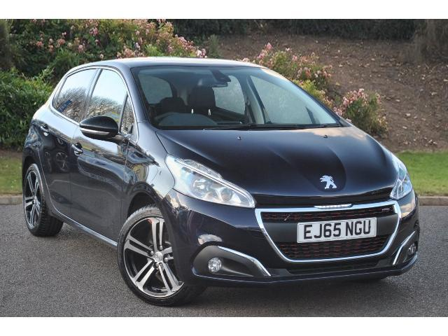 used peugeot 208 1 2 puretech 110 gt line 5dr petrol hatchback for sale bristol street motors. Black Bedroom Furniture Sets. Home Design Ideas